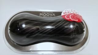 TENGA MOOVA ROCKY BLACKのパッケージ