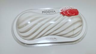 TENGA MOOVA SILKY WHITEのパッケージ