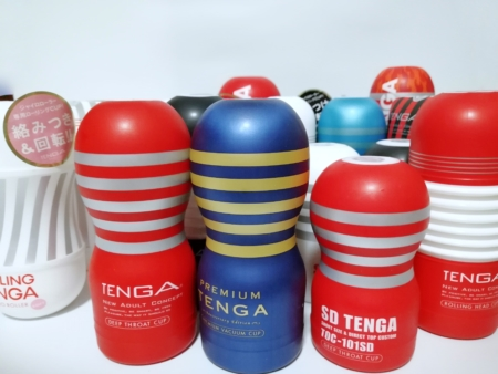 テンガカップたち