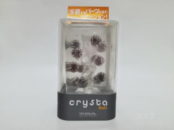 TENGA crysta Ballのパッケージ