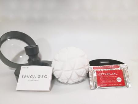 TENGA GEO GLACIERの中身