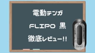 TENGA FLIP0 EV BLACK徹底レビュー