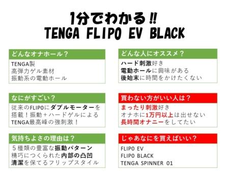 1分でわかるTENGA FLIP0 EV BLACK