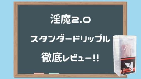淫魔(サキュバス)2.0(standard ripple)徹底レビュー