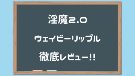 淫魔(サキュバス)2.0 2D-Wavy Ripple(ウェイビーリップル)徹底レビュー