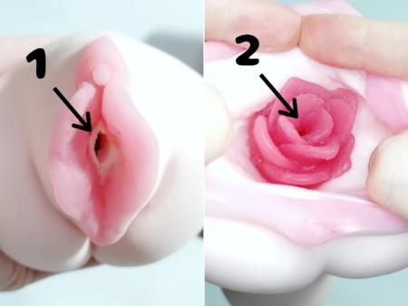 ラビアンローゼス薔薇乙女のふたつの挿入口