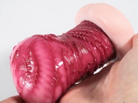 くちゅくちゅジャギーの内部凸凹